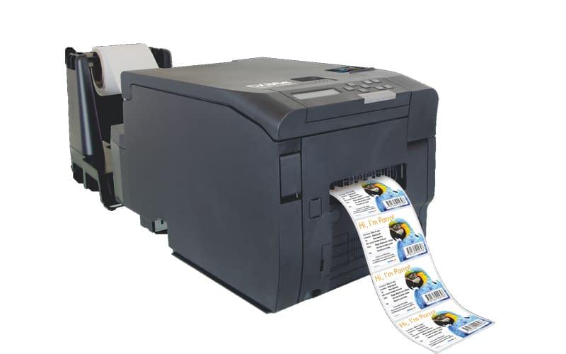 Laserdrucker für Etiketten - DTM CX86e Etikettendrucker