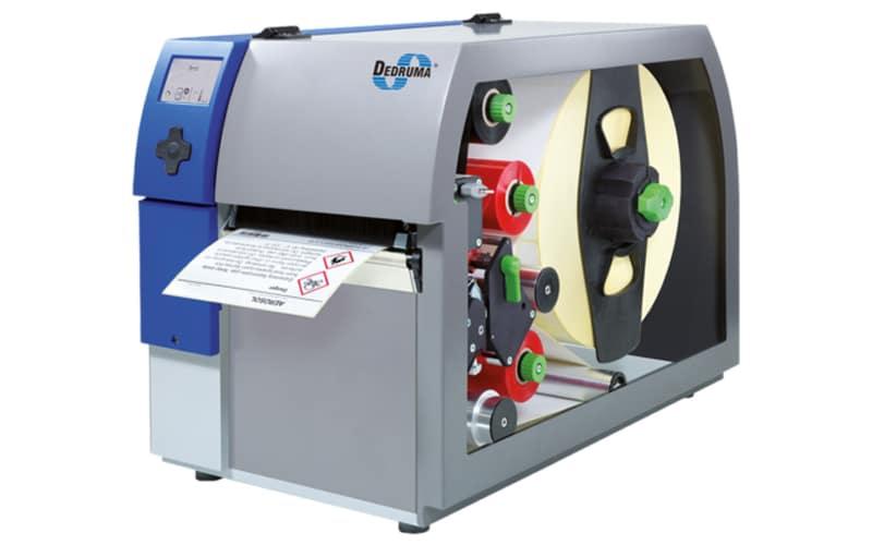 Thermotransfer-Etikettendrucker zwei farbig