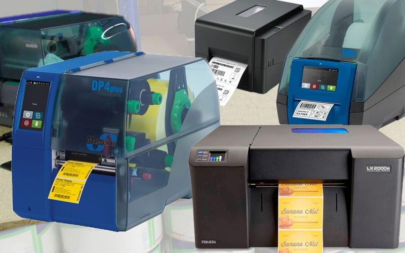Etikettendrucker und Farbetikettendrucker Inkjet Thermo