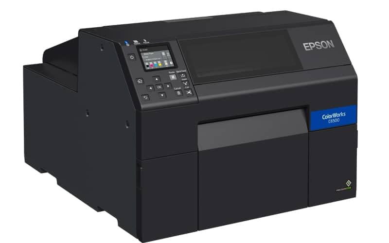 farbetikettendrucker epson 8zoll