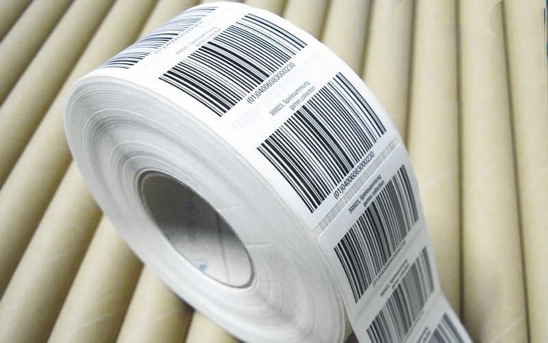 barcode etiketten marschall