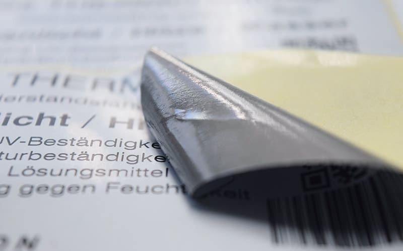 Etiketten Thermo-Material ESP8000
