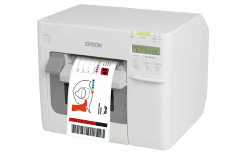 Farb-Etiketten-Drucker Epson C3500
